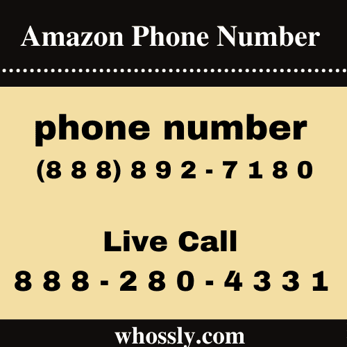 What Is The Amazon Phone Number?