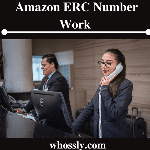 How Does The Amazon ERC Number Work?